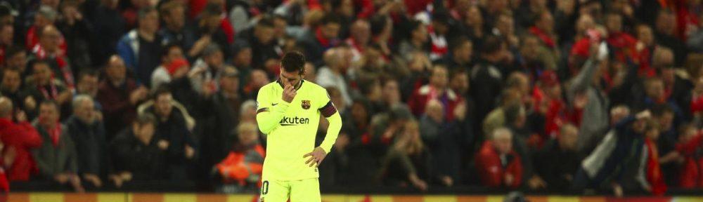 Lionel Messi Mati Kuku Karena Liverpool